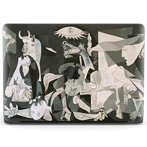 Mertak Hard Case Compatible with MacBook Pro 16 Air 13 inch Mac 15 Retina 12 11 2020 2019 2018 2017 Shell Abstract Laptop Art Touch Bar Girl Pablo Picasso Cubism War Women Print Cover Guernica Plastic