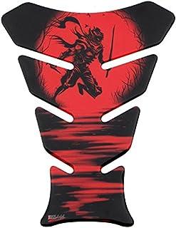 Tankpad 3D   500962   Ninja Red / Rot / Samurai /Schwert   universell für Yamaha, Honda, Ducati, Suzuki, Kawasaki, KTM, BMW, Triumph und Aprilia Tanks