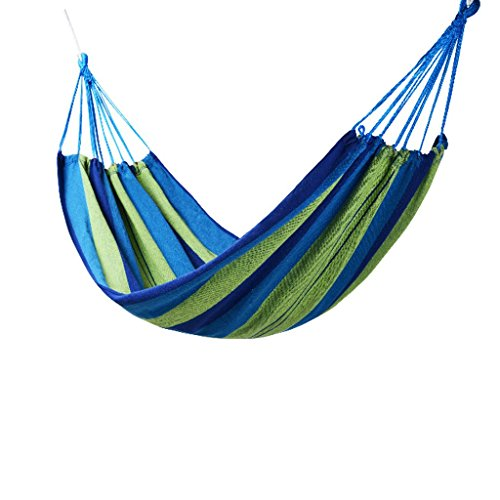 DGF Outdoor Net Nylon Rope Hamac Creative Leisure Camping Hammock200cm * 150cm - Fashionla (Couleur : B)