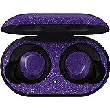 Skinit Decal Audio Skin for Galaxy Buds - Originally Designed Diamond Purple Glitter Design