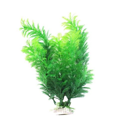 Pinzhi Wasserpflanzen Aquariumpflanze Dekoration Künstliche Lotus-Pflanze Unschädlich (Style 1)