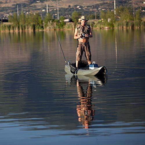 Lifetime Sport Fisher Single or Tandem Kayak, 10 Feet, Olive Green