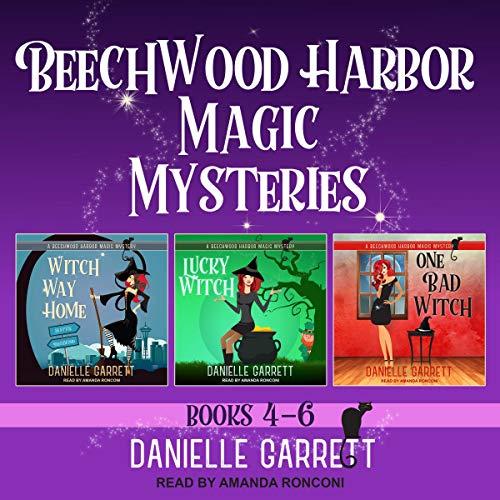The Beechwood Harbor Magic Mysteries Boxed Set, Books 4-6 cover art