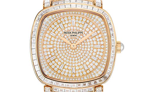 Patek Philippe Gondolo Rose Gold 7042-100R-010 with Paved 251 Diamonds dial