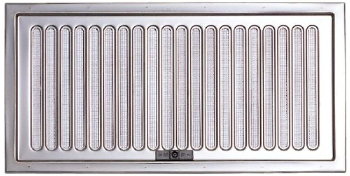 極貧勇者経歴宇佐美工業 ステンレス製 床下換気口 スライド式 UK-YSD1530-SM