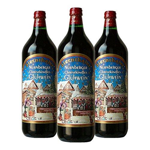 グリューワイン シュテルンターラー ホットワイン ドイツ甘口 プレゼント付き 1000mlx3本 コラム入り