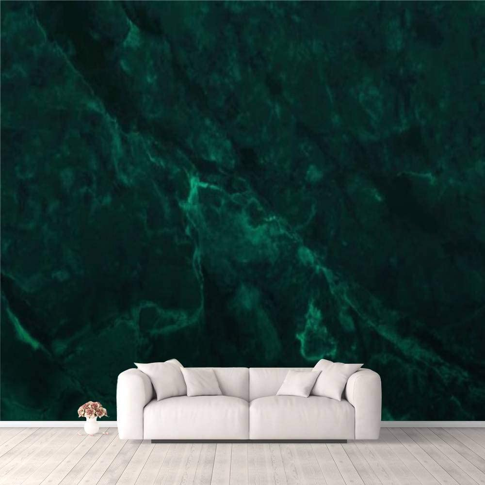 Amazon Com 3d Wallpaper Dark Green Marble Texture Background With High Resolution Top View Of Self Adhesive Bedroom Living Room Dormitory Decor Wall Mural Stick And Peel Background Wall Ceiling Wardrobe Sticker