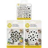 Wilton Assorted Candy Eyeballs Set, 3-Packs
