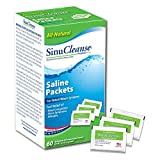 SinuCleanse Saline Solution Packets, 18 Ounce (Pack of 3)