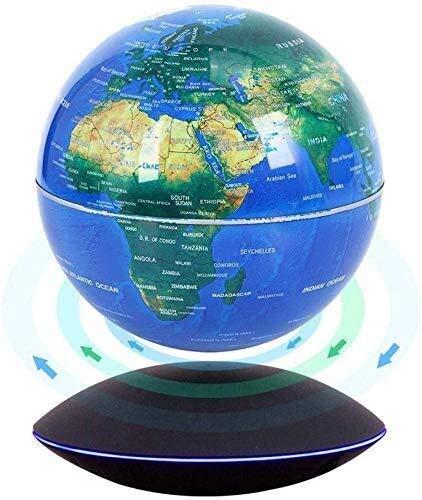 LULUTING Magnetic Schwebender Globus drehen 360 Grad Weltkarte Globe Magnetic Suspension Craft Ornaments Home Office Schreibtisch-Dekoration Geburtstags-Geschenk