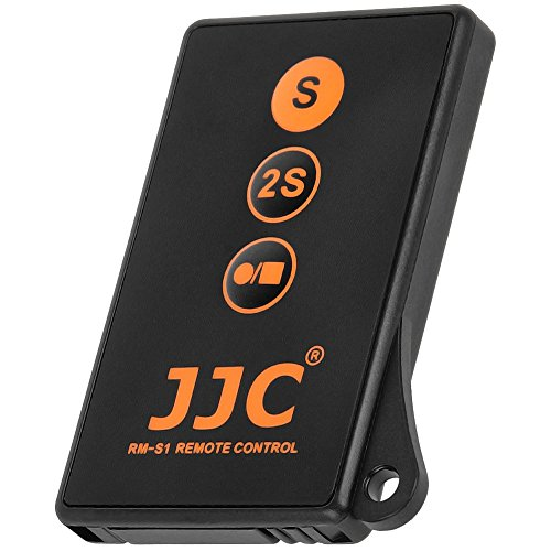 JJC RM-S1 - Mando a Distancia por Infrarrojos con Disparador de vídeo para Sony RMT-DSLR2 RMT-DSLR1 Compatible con SLT NEX etc.