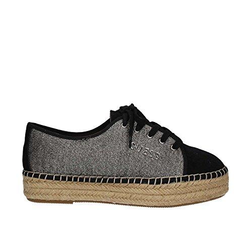 Guess VINCA Espadrille - Sneaker Damen Schuhe Plateau Halbschuhe Schwarz Gr. 41