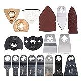 HAOLI 66 pcs/Set Oscillating Tool Saw Blades Multitool Blades Accessories Kit …