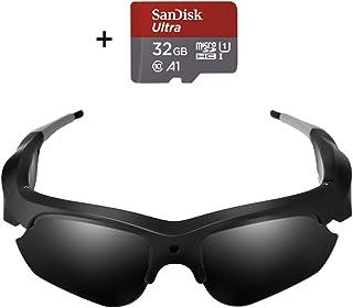 Camera Video Sunglasses,1080P Full HD Video Recording Camera,Shooting Camera...