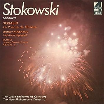 Scriabin: The Poem of Ecstasy / Rimsky-Korsakov: Capriccio Espagnol / Dvorák: Slavonic Dance No.2