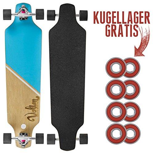 Volten Longboard - Freeride inkl. GRATIS Kugellager-Set