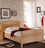 Seniorenbett 100x200 Buche Komfortbett 100x200 höhenverstellbar - (2024)