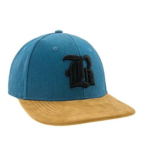 Morefaz Nouveau Snapback Cap toit en suède Casquette de Baseball Bonnet Cap Chapeau Snap back 3D Gothique B (Black B)