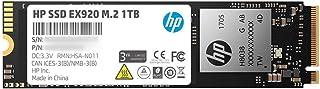 اتش بي EX920 M.2 1 تيرابايت PCIe 3.1 x4 NVMe 3D TLC NAND الداخلي الصلب (SSD) بحد أقصى 3200 ميجا بايت في الثانية 2YY47AA#ABC