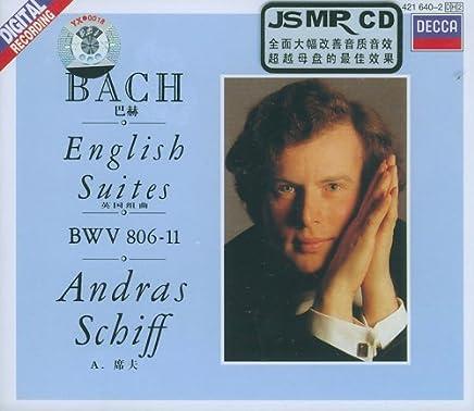 J.S.巴赫:英国组曲BWV(2CD)(421 640-2)