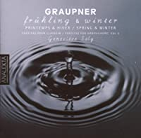 Graupner: Fr眉hling & Winter Partitas for Harpsichord Vol.6 by GENEVIEVE SOLY (2007-05-30)