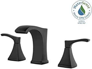 1- Pfister LF-049-VNBB Venturi 8 in. Widespread 2-Handle Bathroom Faucet in Matte Black