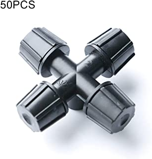 50 Pcs Plastic Atomizing Nozzle, High Quality Premium Black Sprinkler Spray Heads Lawn Garden Sprinklers Accessories