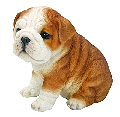 Hi-Line Sitting Bulldog Puppy Figurine