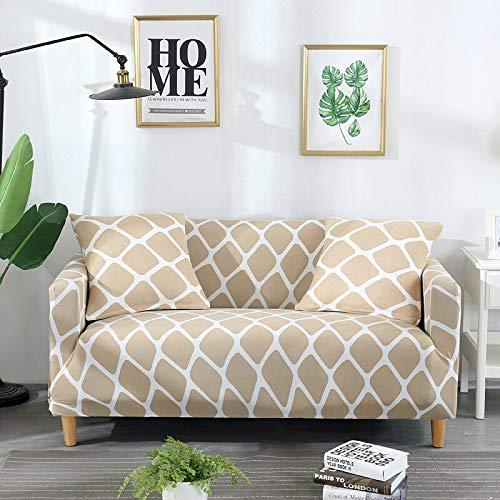 Protector de Muebles-Pieles de sofá Funda elástica para Sala de Estar Funda de sofá de Esquina Funda elástica para sofá A25 3 plazas