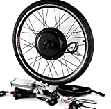 LOO LA Bicicleta Eléctrica Rueda Kit de Conversión 48v 1000w Bicicleta Bici Hub Motor Bicicleta eléctrica Motor de conversión Kit de Rueda de Motor,20'