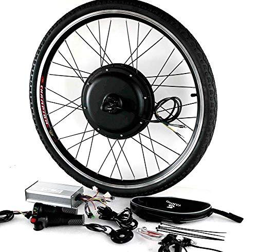 LOO LA Bicicleta Eléctrica Rueda Kit de Conversión 48v 1000w Bicicleta Bici...