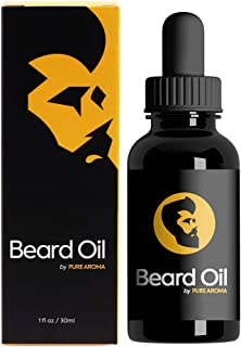 Beard Oil by Pure Aroma 100% PURE! Perfect blend of Argan and Jojoba oils to keep your beard in the best shape!