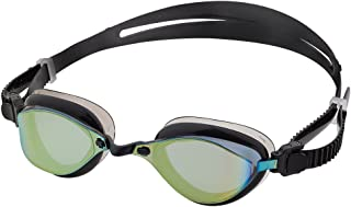 Barracuda Swim Goggle Fenix Mirror - Patented TriFushion System, Mirror Lens Anti-Fog UV Protection Quick Fit No Leaking Competition for Adults Men Women #72710