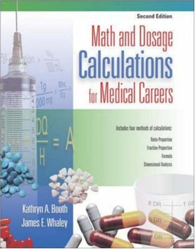 Math and Dosage Calculations for Medical Careers with Student CD-ROM