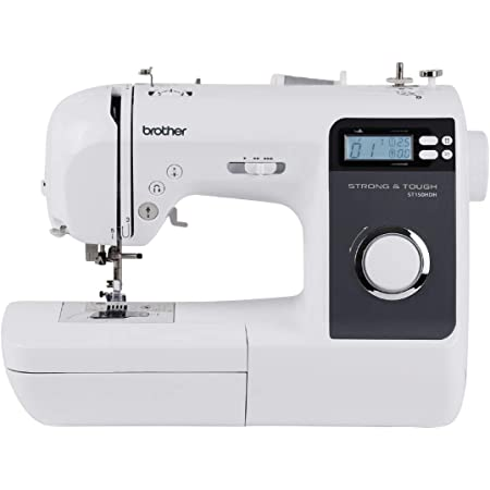 Brother ST150HDH Sewing Machine, Strong & Tough, 50 Built-in Stitches, LCD Display, 9 Included Feet