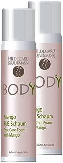 Hildegard Braukmann Body Mango Fuss Schaum, 2er Pack 2 x 100 ml
