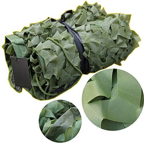 Camouflage net camouflagenet - bescherming tegen de zon - voor kamperen, jagen van 3 x 10 m 5 * 10m