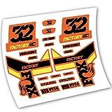 Fox 32 Factory SC Pegatinas Vinilo Adhesivo Horquilla