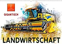Landwirtschaft - Gigantisch (Wandkalender 2022 DIN A3 quer): Immer groesser, immer staerker, immer imposanter, Maschinen in der Landwirtschaft. (Monatskalender, 14 Seiten )