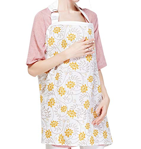 Find Cheap Breastfeeding Nursing Cover,Breathable Cotton Privacy Feeding Cover, Feeding Apron,Adjust...