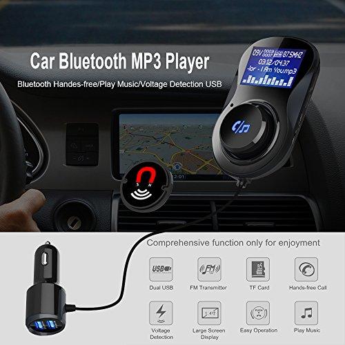 GRDE Bluetooth FM Transmitter