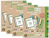 eco-eco Eco031x4 - Juego de 24 divisores de archivos de índ