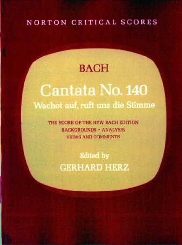 Cantata No. 140 (Norton Critical Scores)