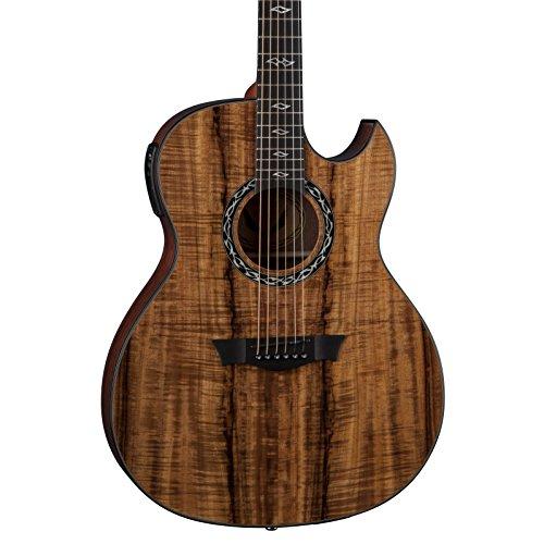 Dean Exhibition 6-String Acoustic-Electric Guitar, Koa