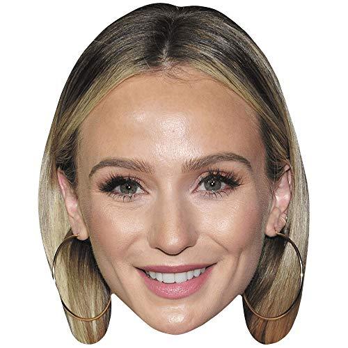 Celebrity Cutouts Lauren Bushnell (Smile) Big Head. Larger than life mask.
