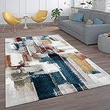Alfombra Diseño, Alfombra Pelo Corto para Salón, Diseño Abstracto, Multicolor, tamaño:200x290 cm