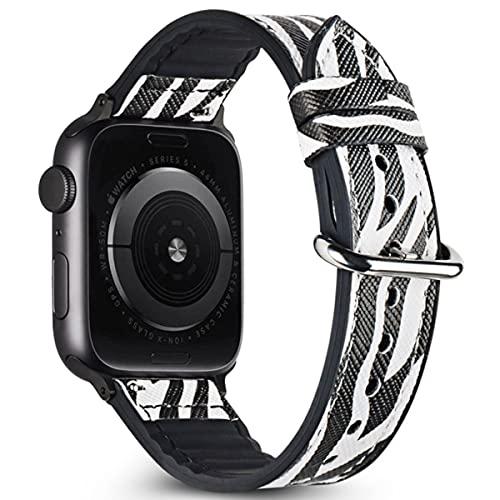 Estuyoya - Pulsera Hibrida Animal Print compatible con Apple Watch Diseño Salvaje...