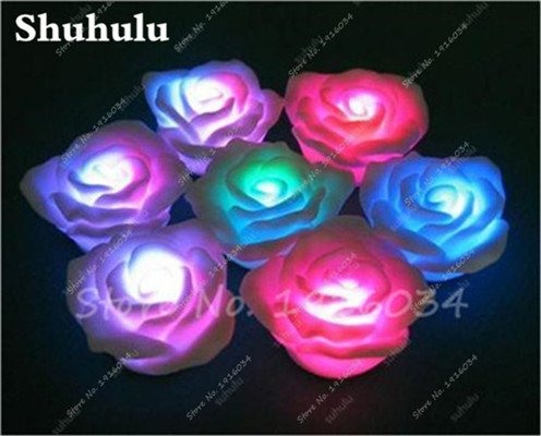 Roses lumineux Graine Salon décoration florale Jeune pousse, Graine facile cultiver des plantes ornementales Bonsai Pot de fleurs 100 Pcs 4