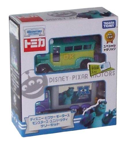 Tomica Disney Pixar Motors Monsters University Sally set (japan import)