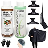 Complex Brazilian Keratin Hair Blowout Treatment With Keratin Tool kit Professional Results Straighten and Smooths Hair 120ml Queratina Keratina Brasilera Tratamiento